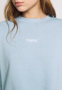 Topshop - PARIS RAW HEM - Sweatshirt - stone - 5