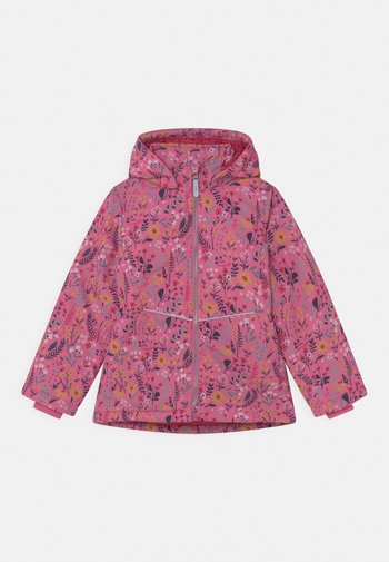 NKFMAXI FLOWER - Winter jacket - ibis rose
