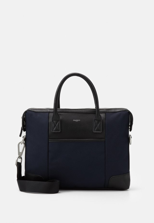 SINGLE DOC - Aktentasche - navy/black