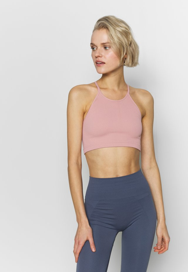 CROPPED RUN TANK - Fitness / Yoga - pink