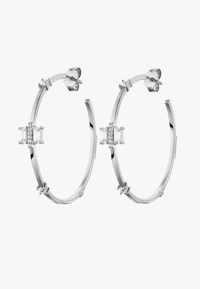CREOLE - Ohrringe - silver-coloured