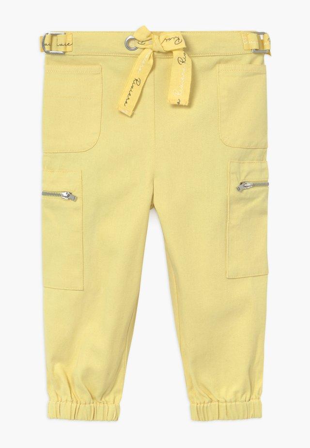 Cargo trousers - lemon