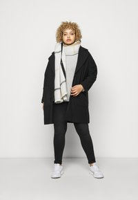 CAPSULE by Simply Be - SINGLE BREASTED RELAXED COAT - Classic coat - black - 1