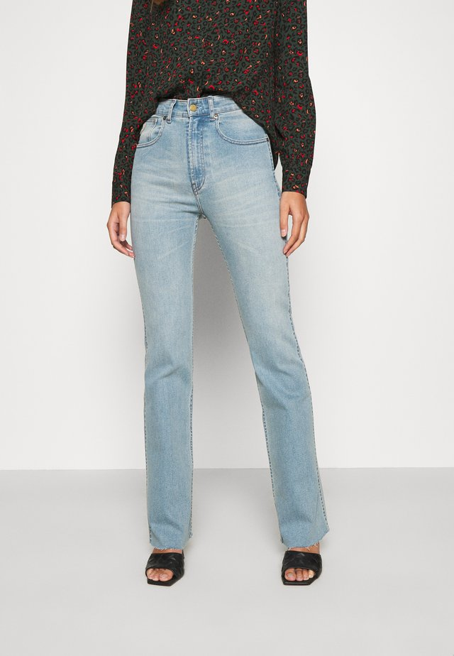 RILEY - Jeans bootcut - stone bleach