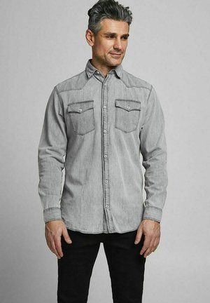 Shirt - light grey denim