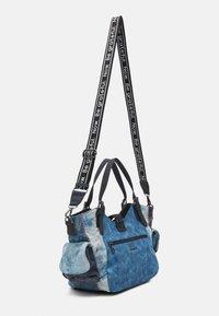 Desigual - BOLS PATCH ROTTERDAM - Handbag - denim dark blue - 1