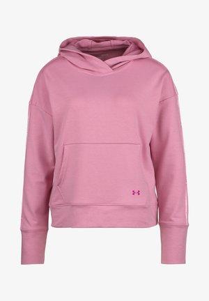 Felpa con cappuccio - rosa