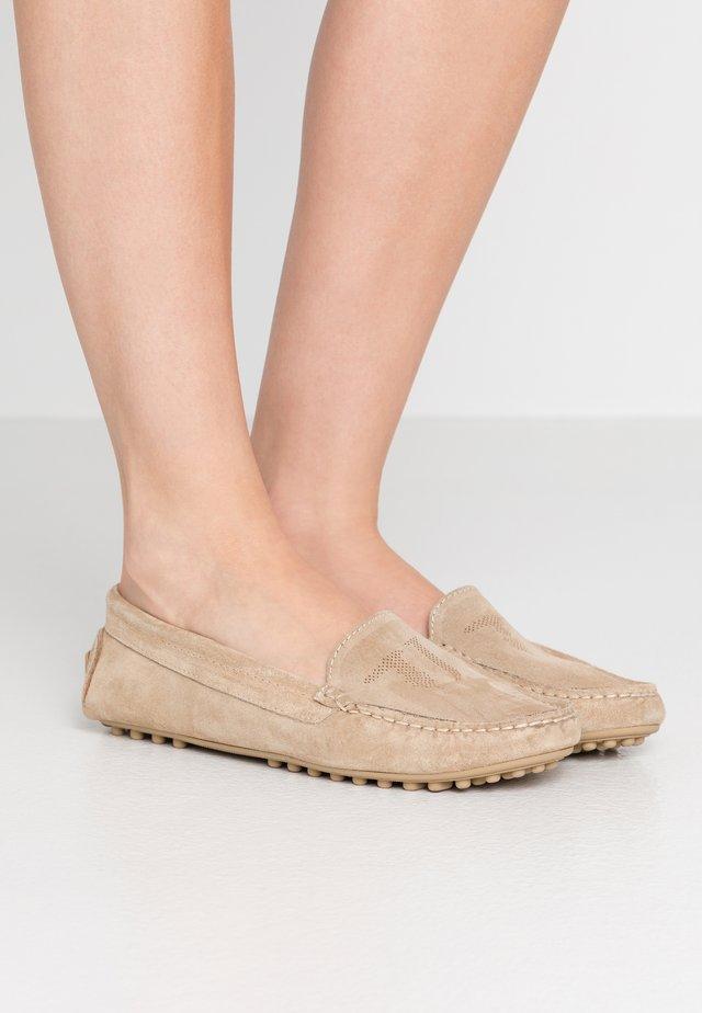 EXCLUSIVE  - Mokassin - cappucino