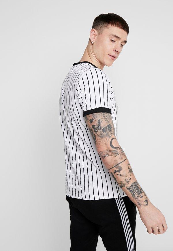 Nominal SNOW - T-shirt z nadrukiem - white/biały Odzież Męska NVNR