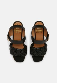 Kanna - SONIA - Platform sandals - schwarz - 4