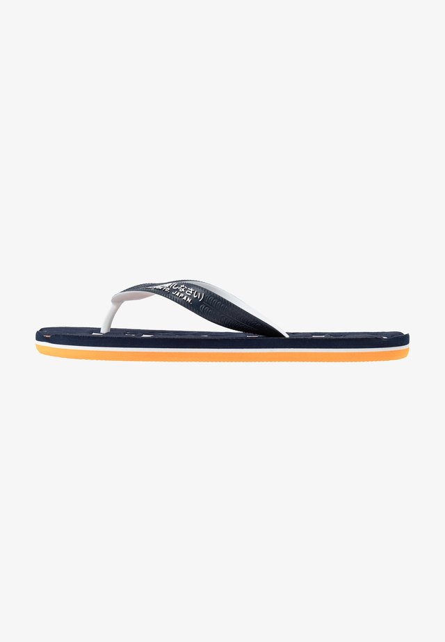 CLASSIC  - T-bar sandals - navy