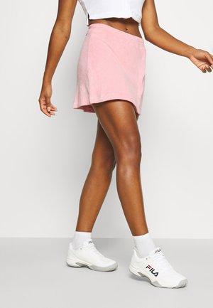 ANGLED SNAP SKIRT - Sports skirt - peony