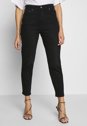 COMFY MOM - Džíny Relaxed Fit - black