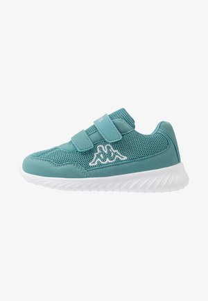 CRACKER II - Sports shoes - dark mint/white