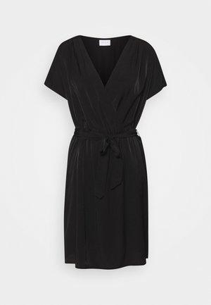 VIMOCAMIL SHORT DRESS - Day dress - black