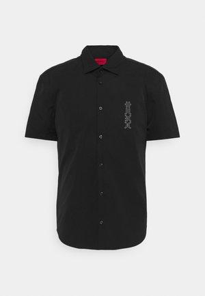 ERMINO SLIM FIT - Shirt - black