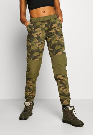 WOMENS CLASS JOGGER - Outdoor-Hose - olive