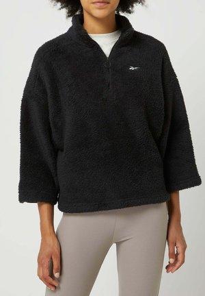 NICKI - Fleece jumper - schwarz