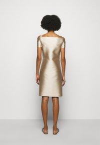 Alberta Ferretti - DRESS - Cocktail dress / Party dress - beige - 2