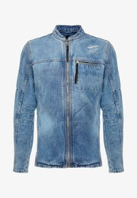 Be Edgy - BETRAVER - Giacca di jeans - indigo mid - 4