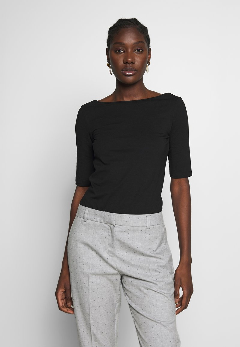 Zign - T-shirt con stampa - black