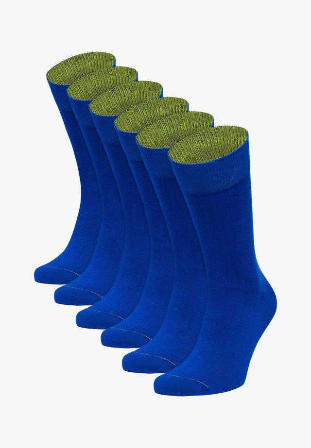6 PACK - Socks - blau