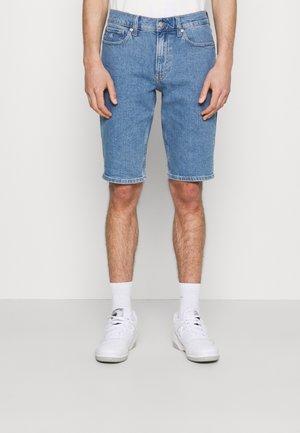 PRIDE GRAPHIC UNISEX - Denim shorts - denim medium