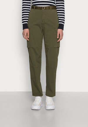 BLEND TAPERED PANT - Trousers - olivewood
