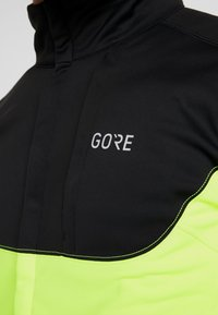 Gore Wear - THERMO TRAIL - Fleece jacket - black/neon yellow - 6