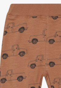 Mainio - PICK UP TRUCK PANTS SLUB - Leggings - Trousers - pecan brown