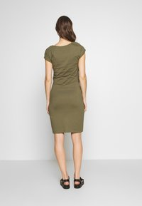 Anna Field MAMA - NURSING DRESS - Sukienka z dżerseju - burnt olive - 2