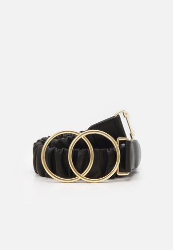 PCJARREN WAIST BELT - Cinturón - black/gold
