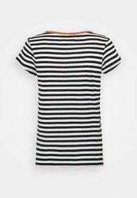 edc by Esprit - CAP SLEEVE - Print T-shirt - black - 1