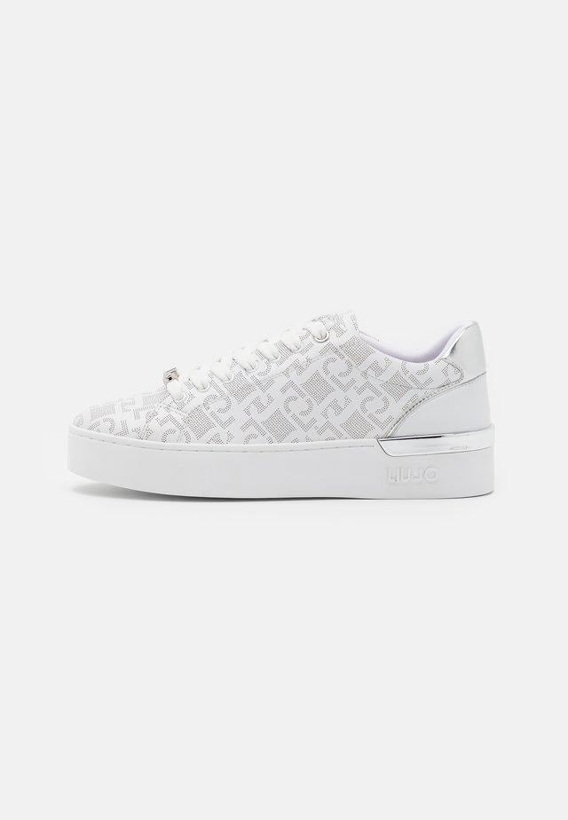 SILVIA  - Sneakers laag - white