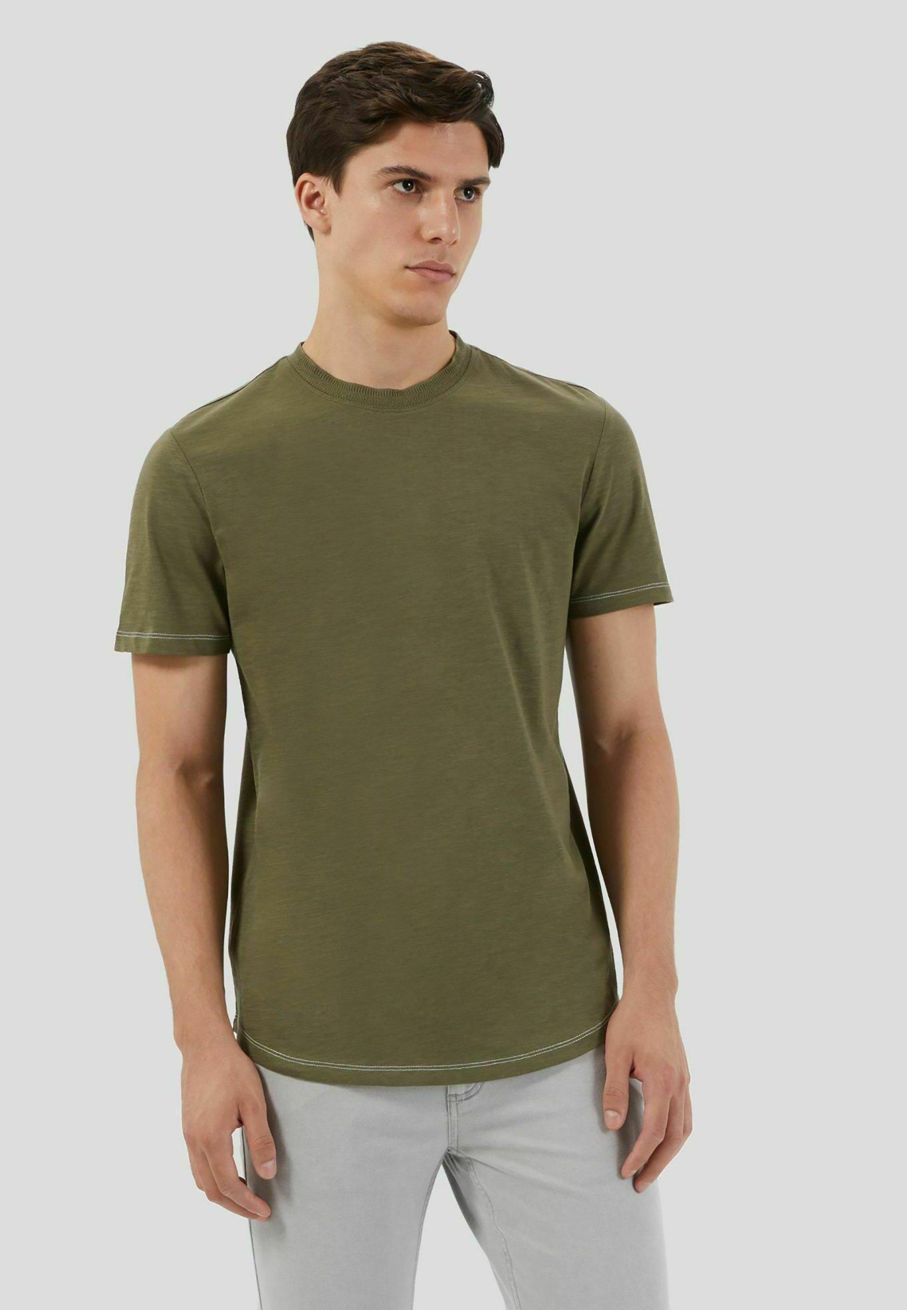 Uomo SLUB  - T-shirt basic