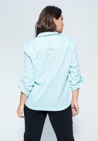 Violeta by Mango - PLANAF6 - Button-down blouse - himmelblau - 2