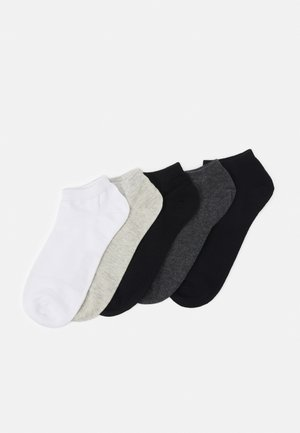 JACDONGO 5 PACK - Socks - dark grey melange/black