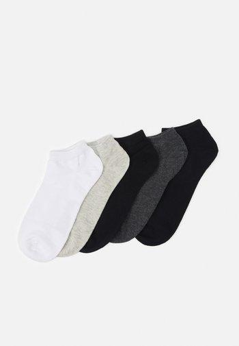 JACDONGO 5 PACK - Socks - dark grey melange/black