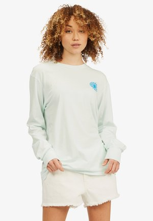 SURFADELIC LONG TEE - Long sleeved top - aqua