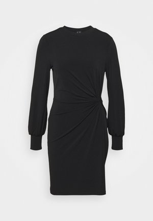 VMTWISTED KNOT SHORT DRESS - Jerseykjole - black