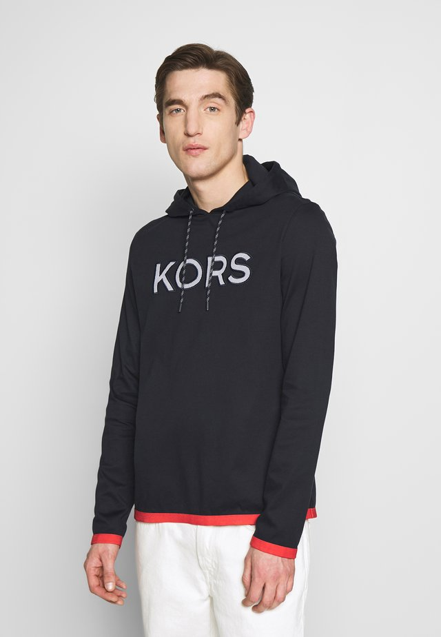 LOGO HOODY - Sweat à capuche - dark midnight