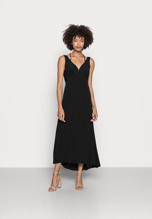 DRESS - Vestito lungo - black