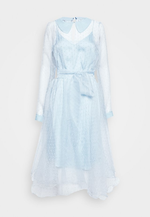 LIDI DRESS - Robe de soirée - chambray blue