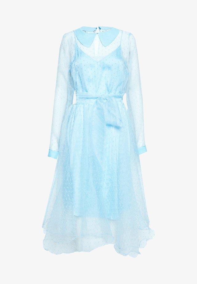 LIDI DRESS - Cocktailklänning - chambray blue