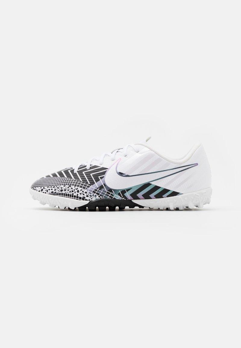 Nike Performance - MERCURIAL JR VAPOR 13 ACADEMY TF UNISEX - Kopačky na umělý trávník - white/black