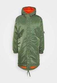 HUNTER - Zimní kabát - olive