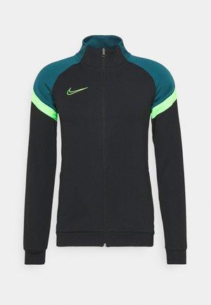 DRY ACADEMY - Training jacket - black/green strike