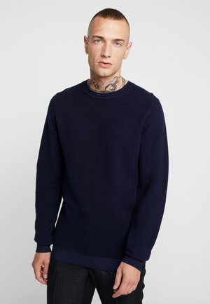JELIAM CREW NECK - Jumper - maritime blue navy