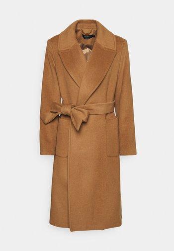 LINED COAT - Classic coat - new vicuna
