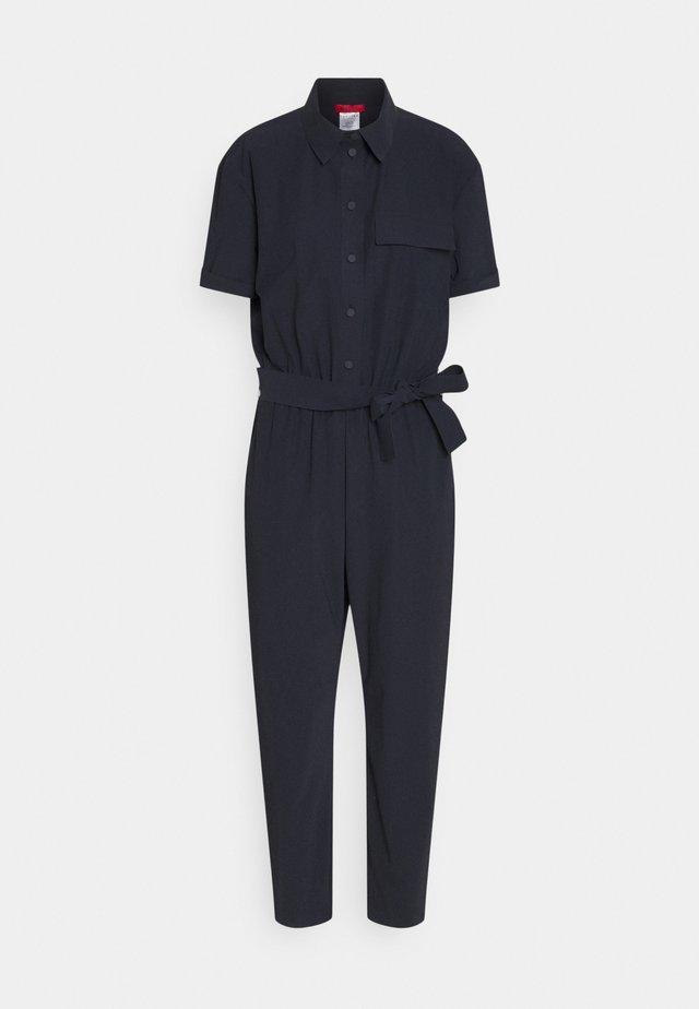 CUBISMO - Jumpsuit - navy blue